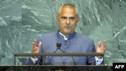 Timor-Leste President Jose Ramos-Horta speaks to the General Assembly.