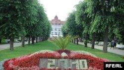 Карловы Вары шаарындагы парк