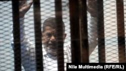 Ousted Egyptian President Muhammad Morsi (file photo)