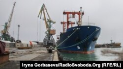 Морской порт в Бердянске