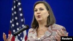 Помощник госсекретаря США Виктория Нуланд (архив)