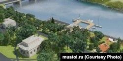 Проект реконструкции набережной, Сортавала