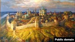 Казанское ханство. Картина Фирината Халикова