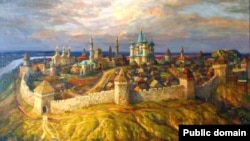 Казан ханлыгы күренеше, Фиринат Халиков рәсеме