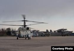 Військова авіатехніка 10-ї бригади морської авіації ЗСУ на аеродромі «Кульбакине», місто Миколаїв