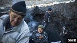 Қырғызстанның Мин-Куш ауылындағы ашық көмір кеніші. Көрнекі сурет.