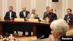 Алматыға келген Иран делегациясы. Алматы, 26 ақпан 2013 жыл.
