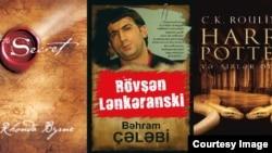 2017-ci ilin fevral ayında Qanun nəşriyyatının ən çox satılan kitabları.