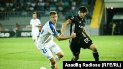 Qarabağ-Slovan qarşılaşması fotolarda