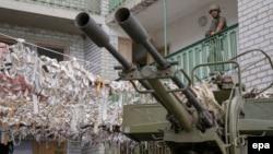 Український військовий на позиціях у Широкині (архівне фото)