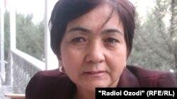Муҳаббат Мирзораҳимова - намояндаи яке аз созмонҳои ҷамъиятӣ дар Қӯрғонтеппа