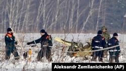 Ռուսական օդանավի աղետի վայրում որոնողական և քննչական գործողություններ են իրականացվում, 12-ը փետրվարի, 2018 թ․