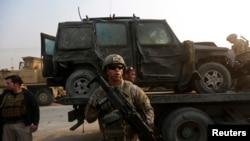 Кабул маңындағы америкалық әскерилер, Ауғанстан.