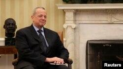 """Джон Аллен, спецпосланник США по вопросам противодействия экстремистской группировке """"Исламское государство""""."""