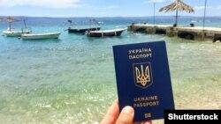 پاسپورت اوکراین