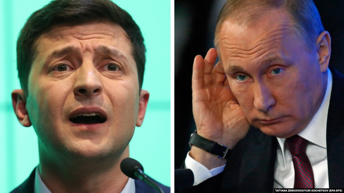 Ваша Свобода | Путин не хочет пока что встречаться с Зеленским