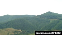Nagorno-Karabakh - A mountain pass in the southern Hadrut district, 07Jul2011.