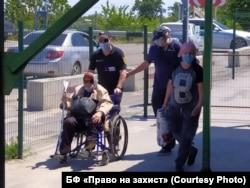 На КПВВ «Станица Луганская», 11 июня 2020 года