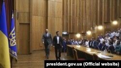 Президент представив нового голову ОДА під час поїздки в Івано-Франківськ 2 серпня