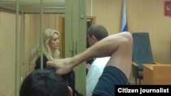 Адвокат Аблязова в суде.