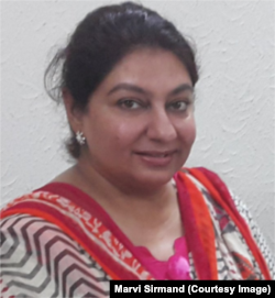 Journalist Marvi Sirmed
