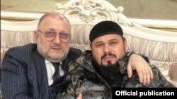 Джамбулат Умаров и Абузайд Висмурадов (справа)