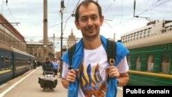 Журналіста Романа Цимбалюка затримали московські поліцейські під час інтерв'ю