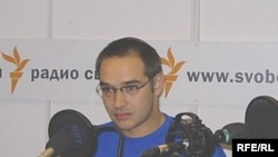 Антон Носик в студии Радио Свобода