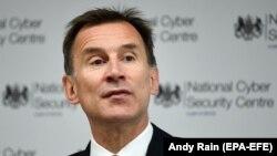 Sekretari i Jashtëm britanik, Jeremy Hunt.