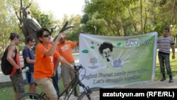 Участники велопробега «ВелоBOOM»