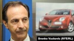 "Antonio Ćezare Ferara, menadžer kompanije ""Fiat automobili Srbija"""