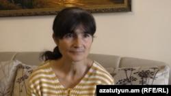 Մատաղիսցի Ջուլիտա Սարգսյանը զրուցում է «Ազատության» թղթակցի հետ: 6-ը ապրիլի, 2016 թ․