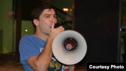 Кире Василев, активист, магистрант по европски студии.