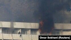 Хотелот Интерконтинентал во Кабул за време на нападот