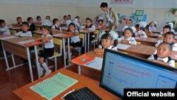 Школа в Бишкеке. Архивное фото.