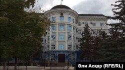 Здание Актюбинского областного суда. 14 октября 2016 года.