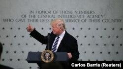 Прэзыдэнт ЗША Дональд Трамп