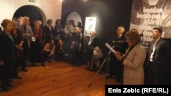 """Izložba Bogdan Bogdanović – ukleti neimar"""" u Zagrebu, listopad 2012."""