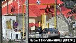 КПП «Верхний Ларс» на российско-грузинской границе