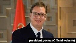 Сербия президенти Александр Вучич.