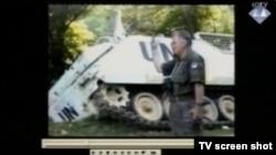 Ratko Mladić u Srebrenici, snimak prikazan na suđenju