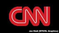 Логотип телеканала CNN.