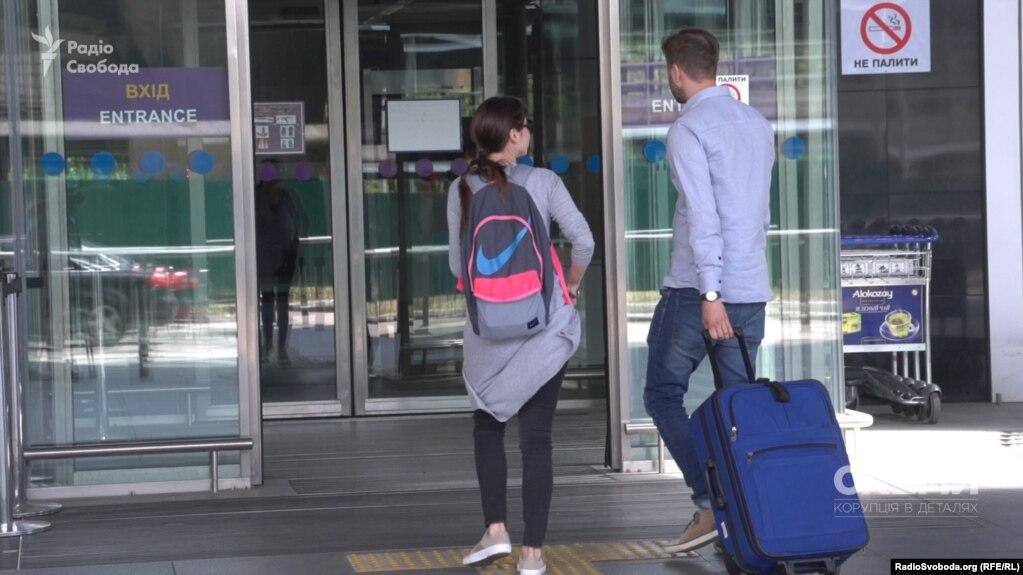 В киевском в аэропорту «Борисполь» задержали азербайджанского оппозиционного журналиста