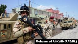 Forcat speciale të Irakut në qytetin verior Mosul
