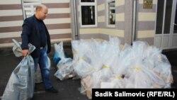 Izborni materijal se prikuplja za dostavu CIK-u u Sarajevu, Srebrenica
