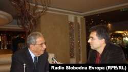 Amr Moussa u razgovoru sa Draganom Štavljaninom