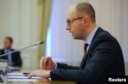 Украина премьер-министрі Арсений Яценюк.