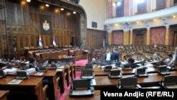Opozicija u bojkotu saopštila je da će informaciju o stanju u parlamentu Srbije poslati Evropskoj komisiji