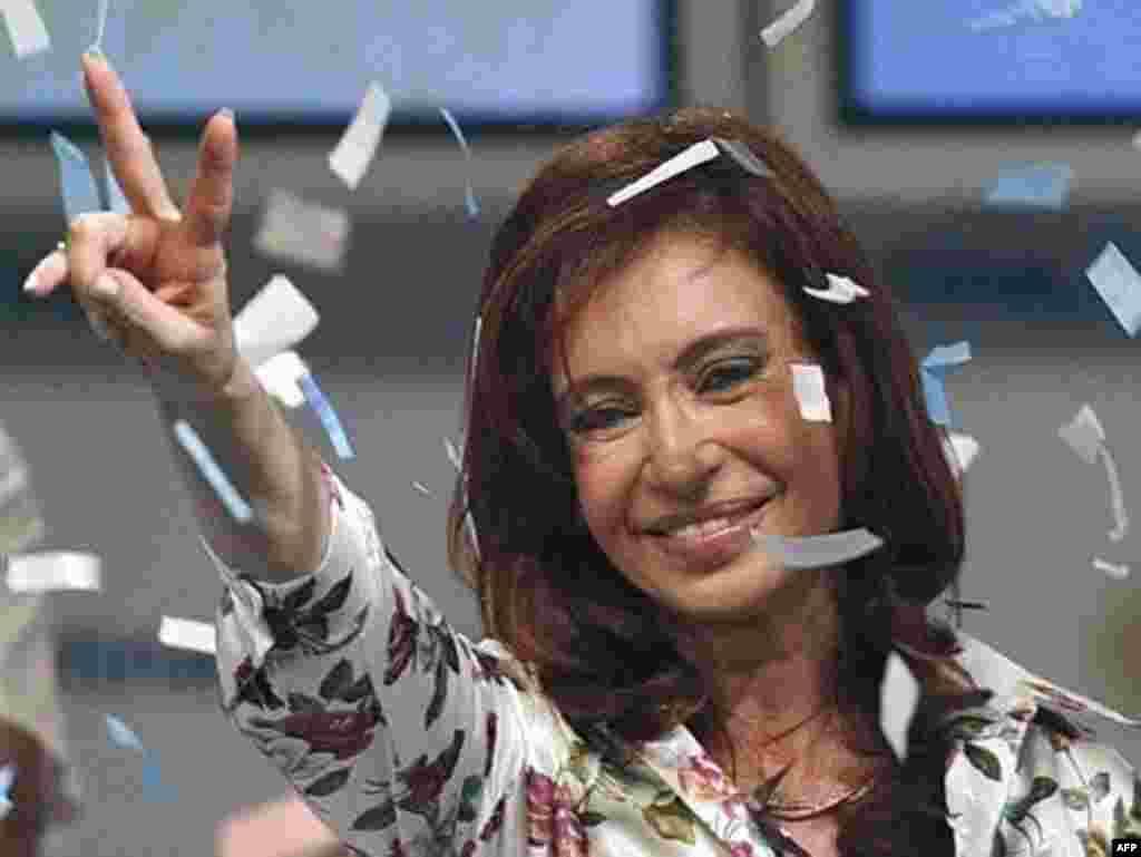 Cristina Fernandez de Kirchner , predsjednica Argentine