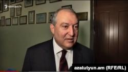 Արմեն Սարգսյան, արխիվ